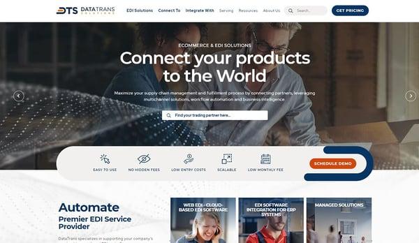 DataTrans Solutions Screenshot