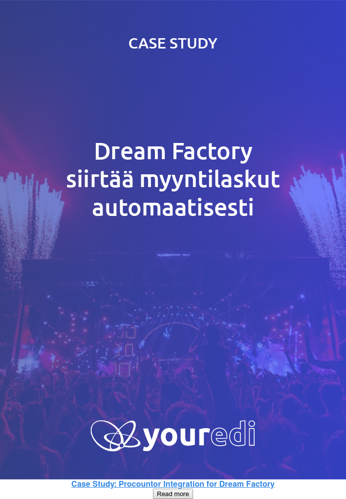 Case Study: Procountor Integration for Dream Factory Read more