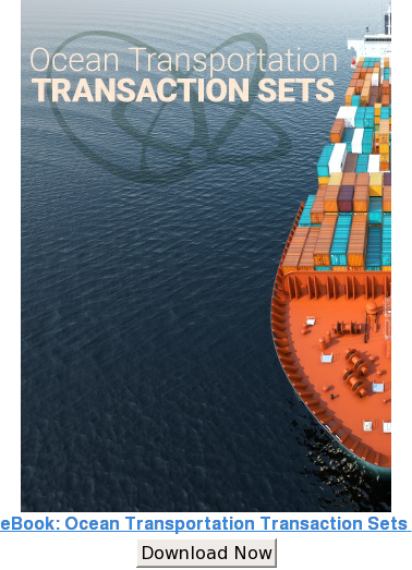 eBook: Ocean Transportation Transaction Sets  Download Now